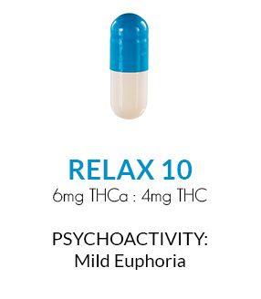 Get Zen Cannabis Capsules 30 ct. - Relax 10
