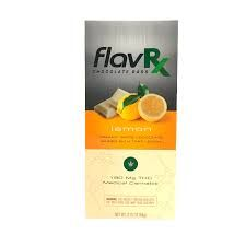 180MG FlavRX Lemon White Chocolate Bar