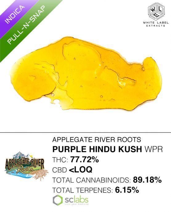 WLE - Purple Hindu Kush WPR, Indica, Pull-n-snap
