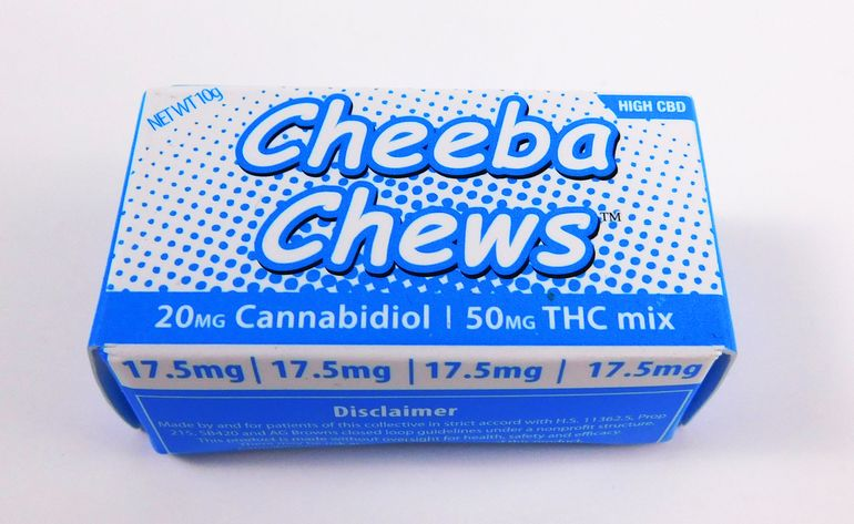70MG Cheeba Chew High CBD Taffy