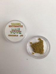 Vader Extracts- Crumble Maui Wowie .5g
