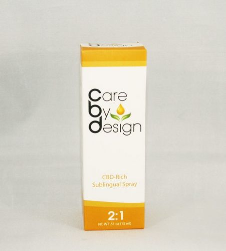 2:1 CBD Spray - Care By Design 15 ML