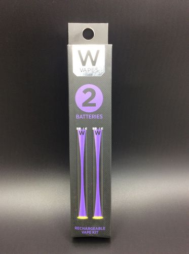 Rechargeable Battery 2 Pack by W Vapes