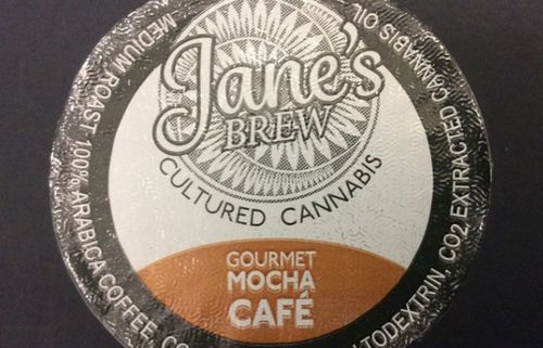Jane's Brew Gourmet Mocha Cafe K-Cup by House of Jane (200mg THC)