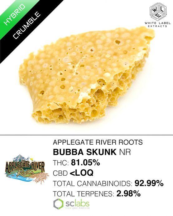 WLE - Bubba Skunk, Hybrid, Honeycomb