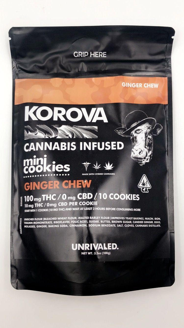 Korova Ginger Chews
