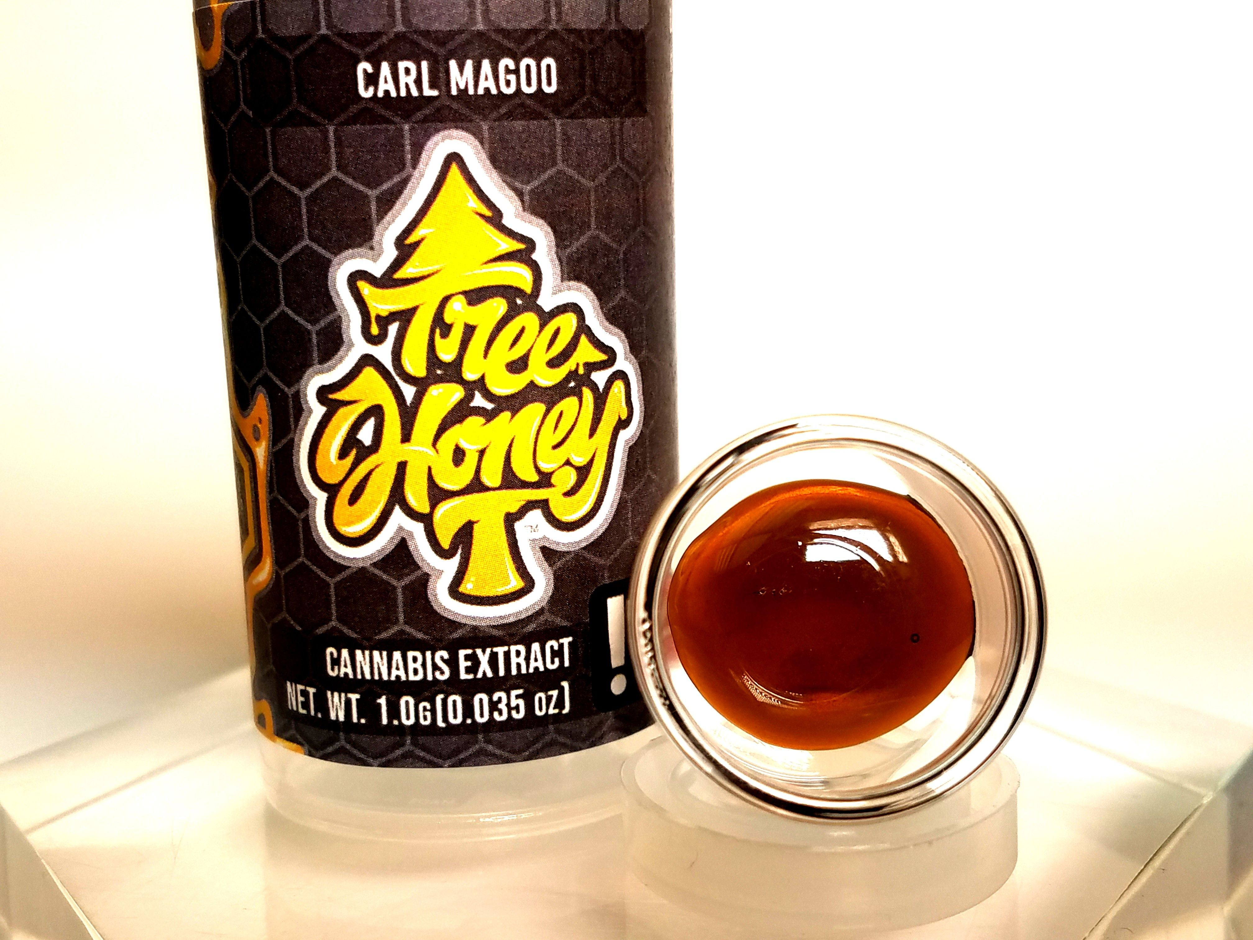 Tree Honey- Carl Magoo, Indica Hybrid, Pull-n-Snap