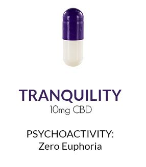 Get Zen Cannabis Capsules 30 ct. - Tranquility 10