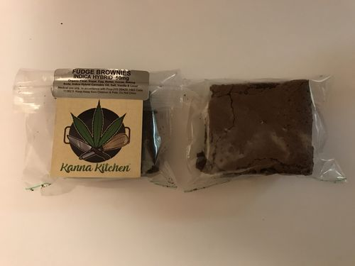 Kanna Kitchen Fudge Brownie - 50mg