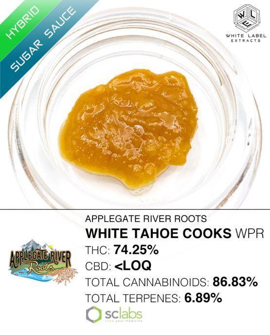 WLE- White Tahoe Cookies, Hybrid, Sugar Sauce
