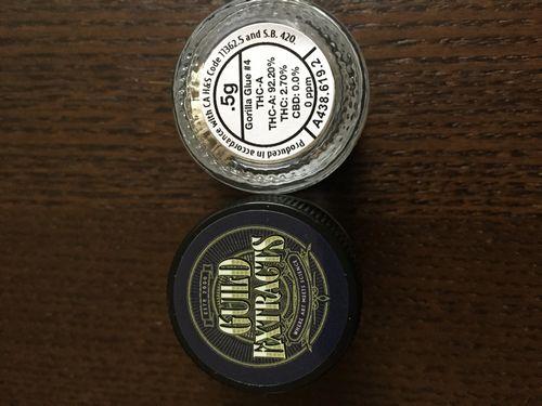 Guild Extract Gorilla Glue#4 THC-A Powder 92.2%THC!!!