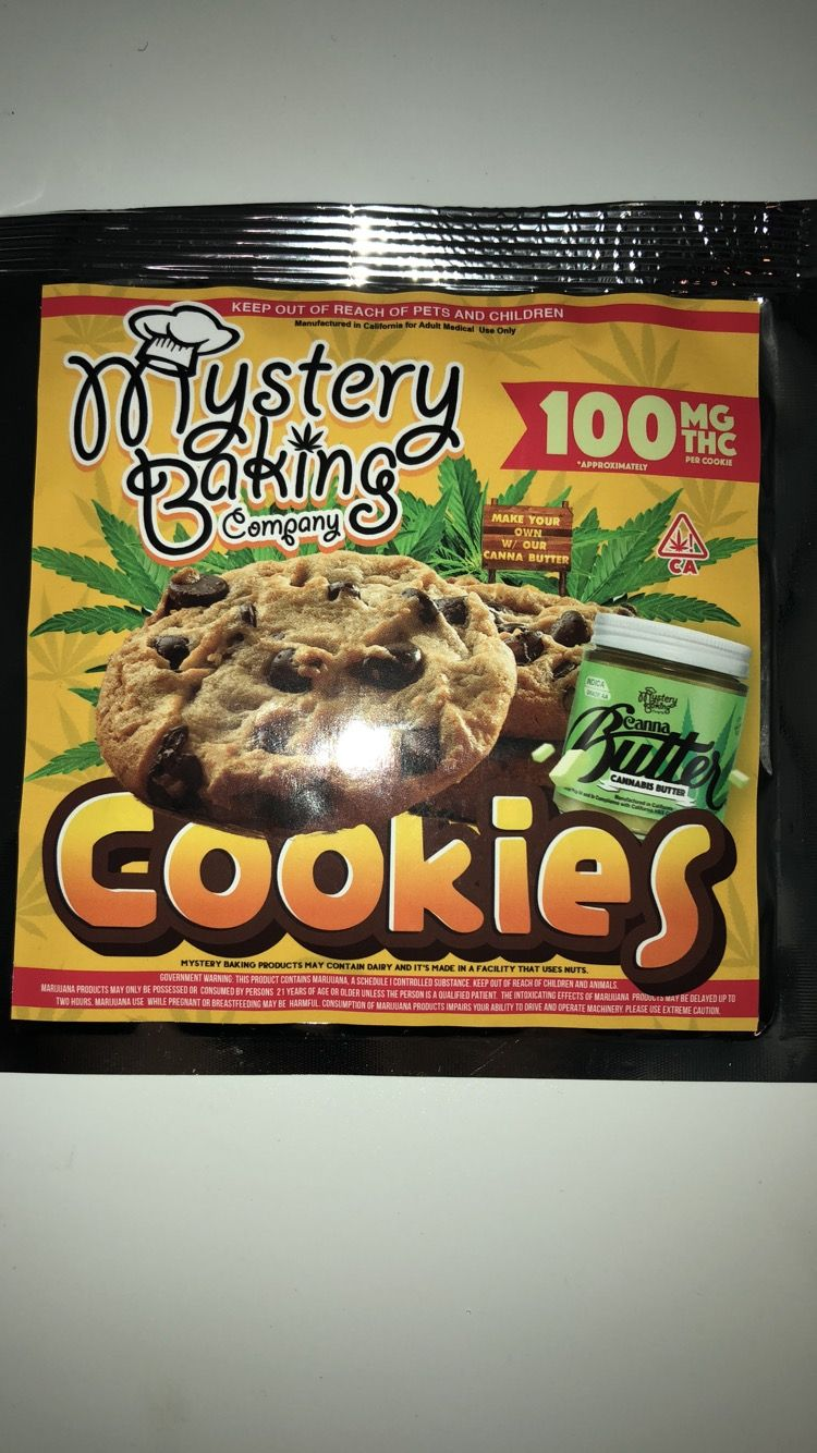 Mystery Baking Chocolate Chip Cookie