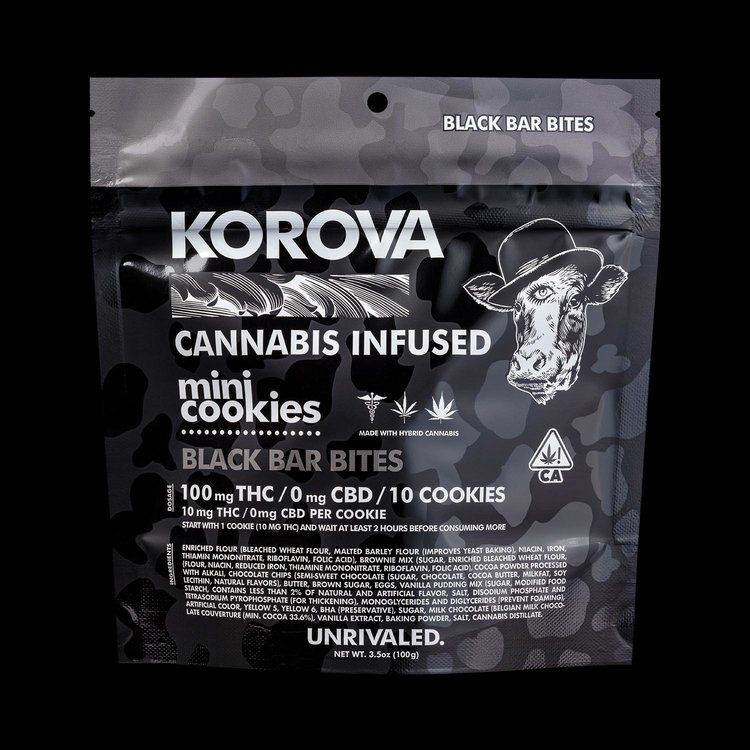 Korova Black Bar Bites $20