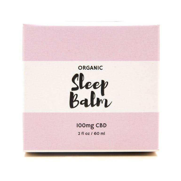 Organic Sleep Balm 100mg CBD