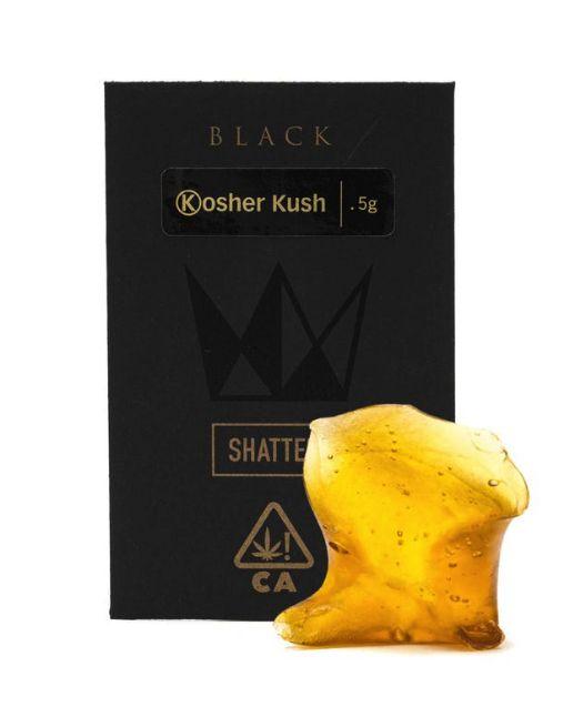 Kosher Kush Black Label Shatter- West Coast Cure