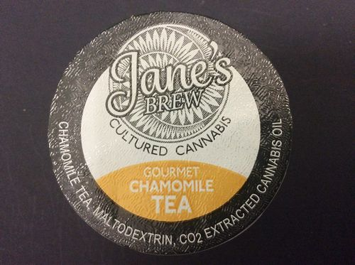 Jane's Brew Gourmet Chamomile Tea K-Cup by House of Jane (20mg THC)