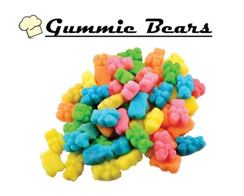 Infused Creations - Sour Gummie Bears (Indica) 150mg