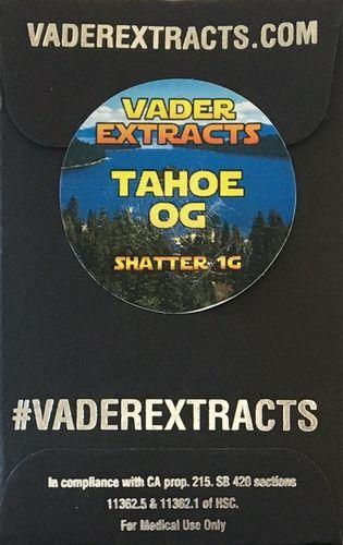 Vader Extracts - Tahoe OG Shatter