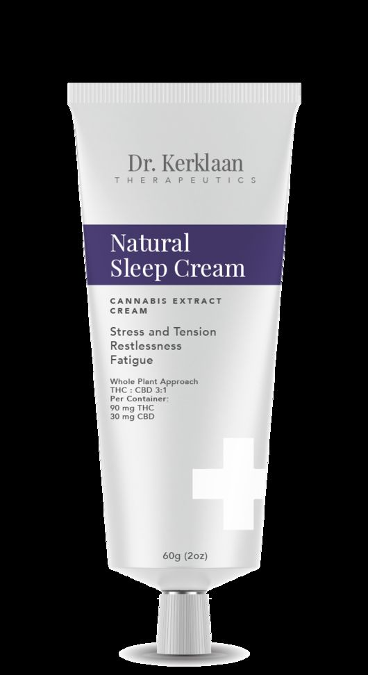 Dr Kerlaan Theraputics Natural Sleep Cream