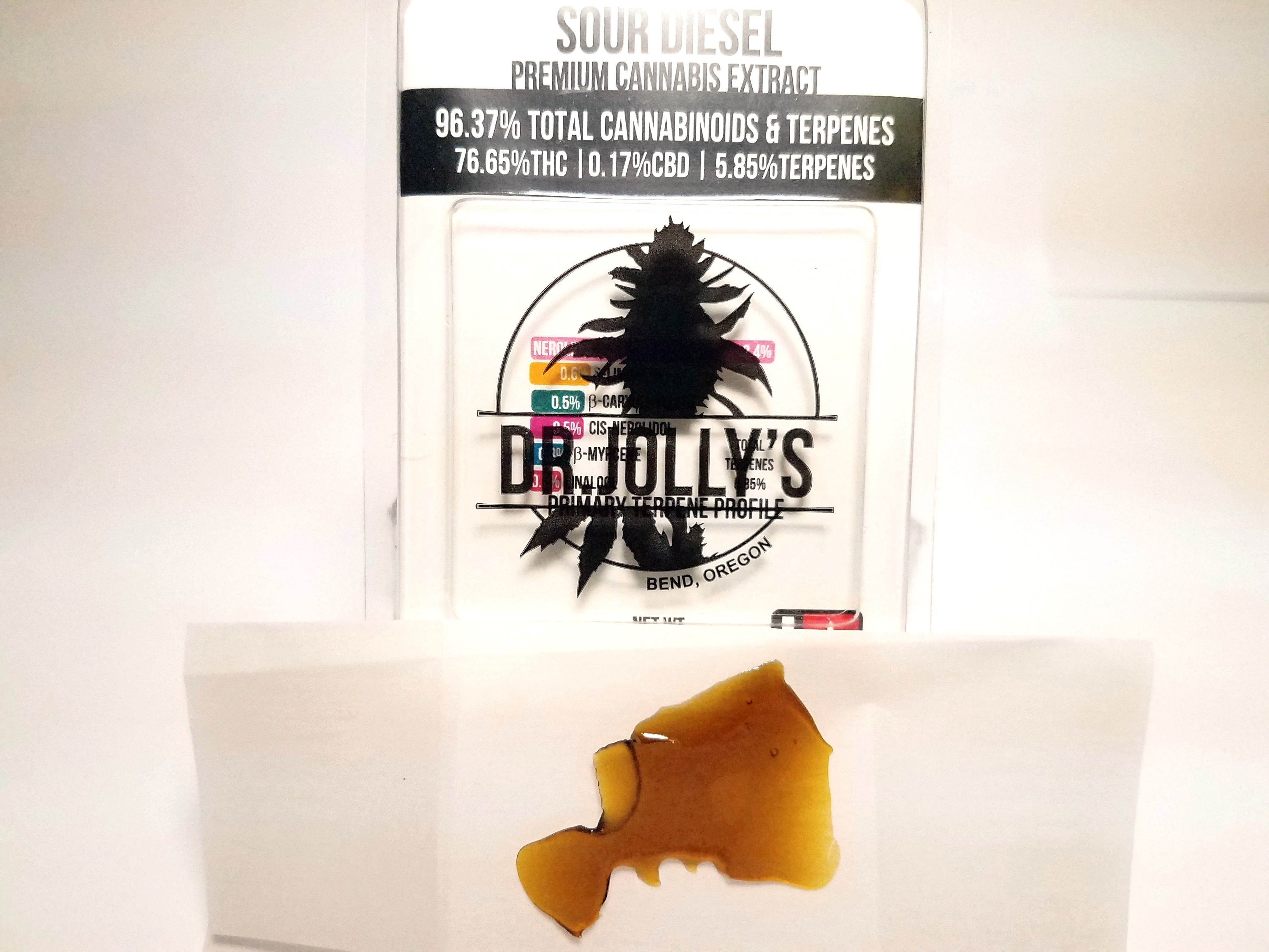 Dr. Jolly's - Sour Diesel, Sativa, Pull-n-snap