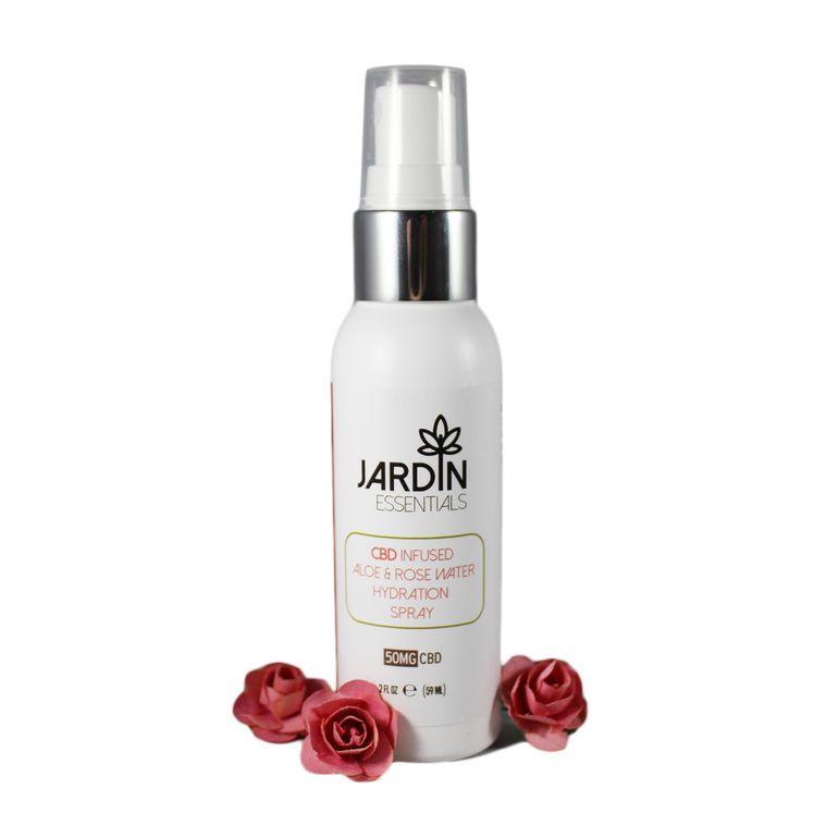 Aloe & Rose Hydration Spray 50mg CBD
