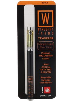 Winberry Farms - Mango Super Silver Haze, Sativa, Distillate Traveler