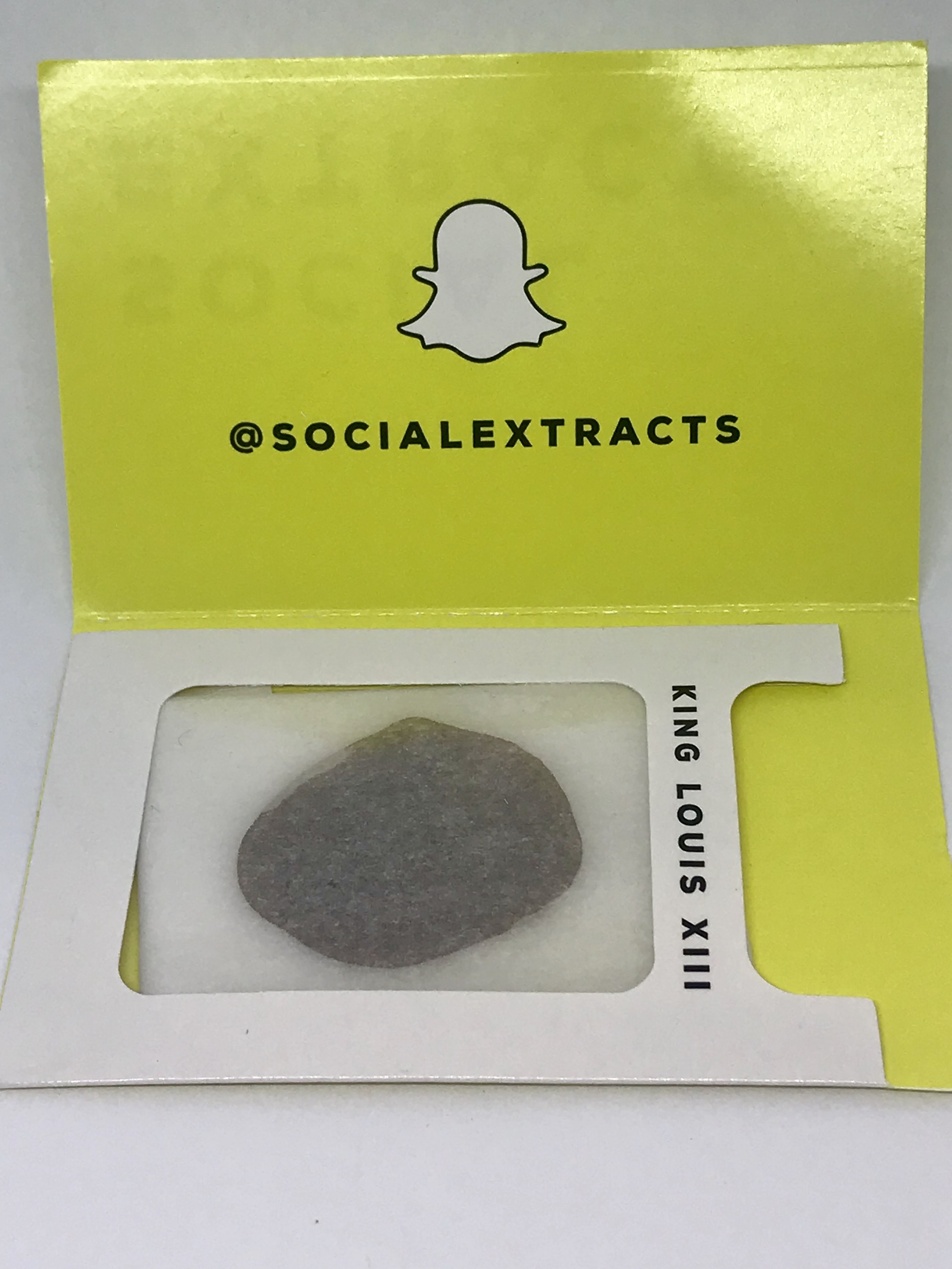 Social Extracts - King Louis XIII Shatter