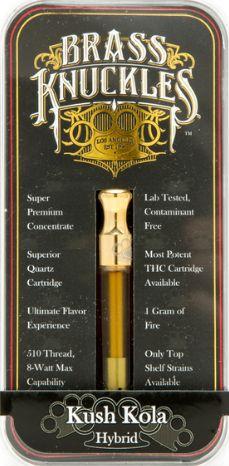 Brass Knuckles - Kush Kola Cartridge (Hybrid)