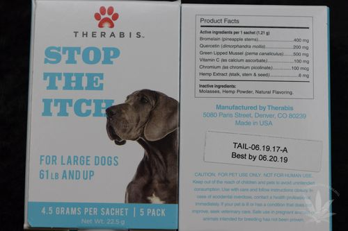 Therabis Stop The Itch Large Dog (5 pack)