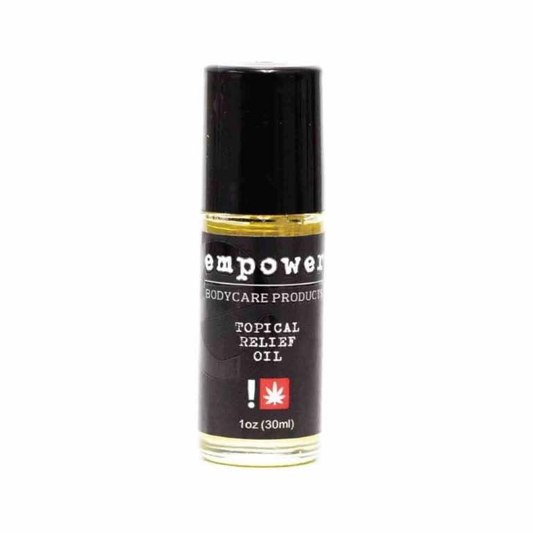 Empower - Black Label 30ml Roll-On Relief Oil