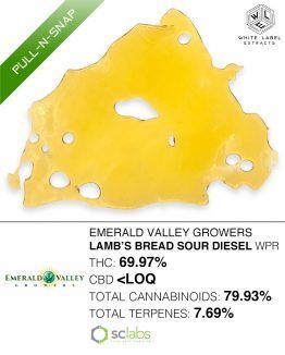 WLE- Lamb's Bread Sour Diesel WPR Pull and Snap