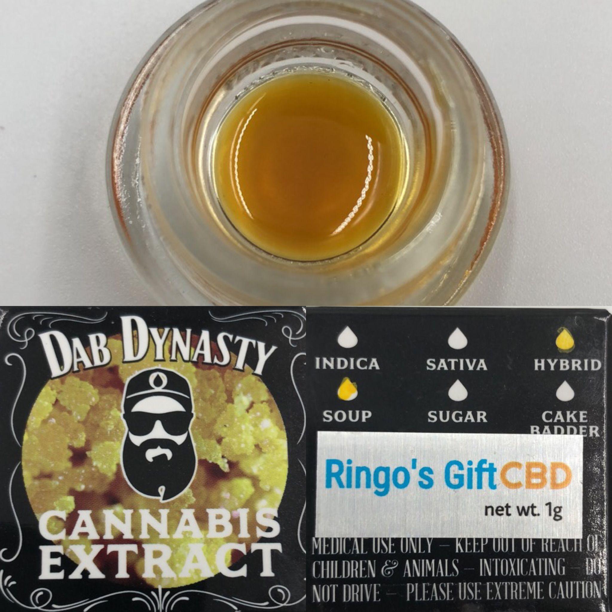 Ringo's Gift CBD Sauce