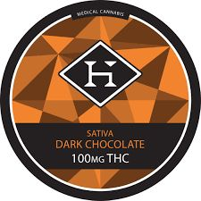 [Hashman] 100mg Sativa Chocolate