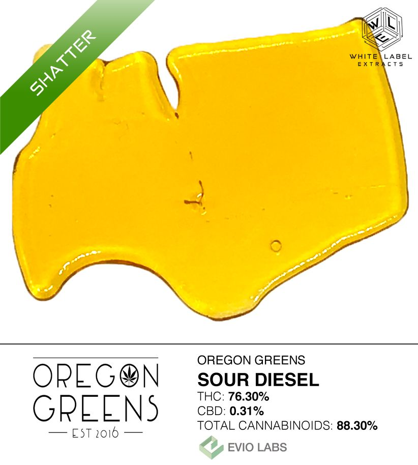WLE, Sour Diesel Shatter Was 33