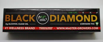 Black Diamond RSO THC 2g. Syringe