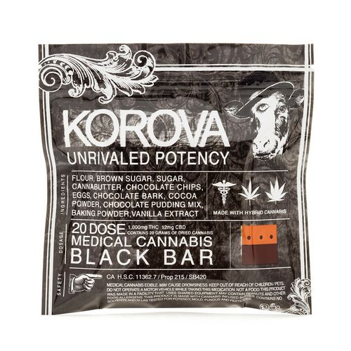 Korova Black Bar, 1000mg