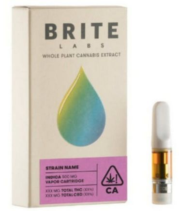 Brite Labs Cookie Kush Cart
