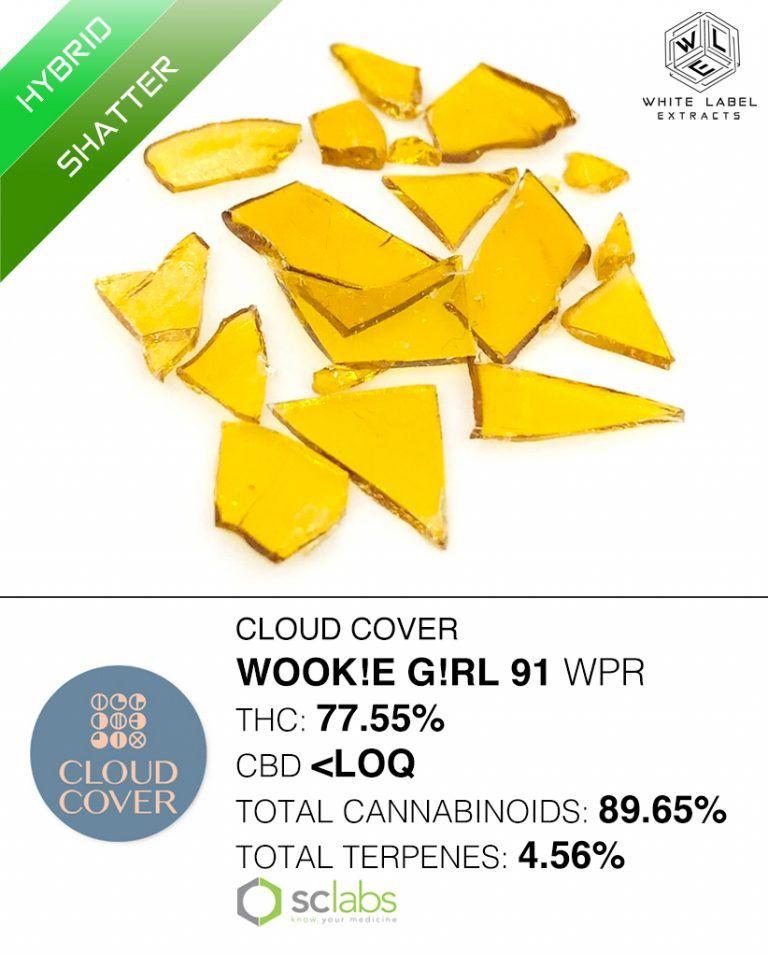 WLE - Wook!e G!rl 91 WPR, Hybrid, Shatter