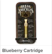 Brass Knuckles - Blueberry Cartridge