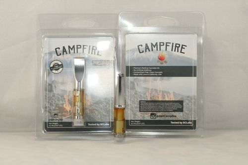 Redwood Kush- Campfire - Solvent Free Cartridge