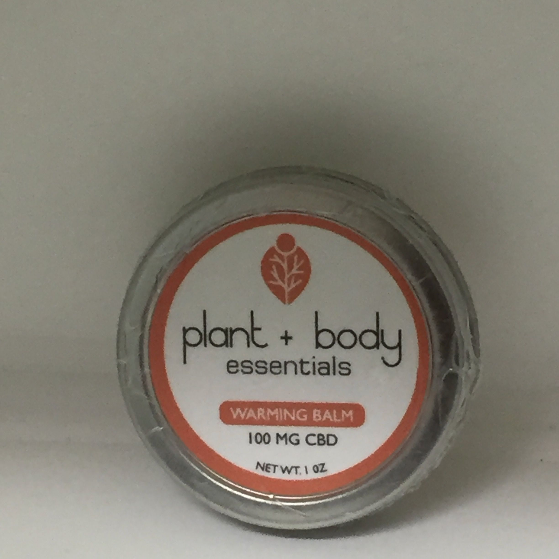 Plant + Body Essentials - Warming Balm 100mg