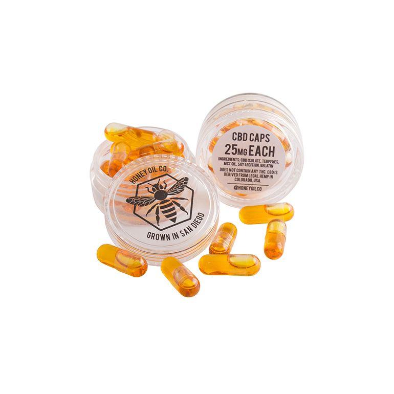 25mg CBD capsules