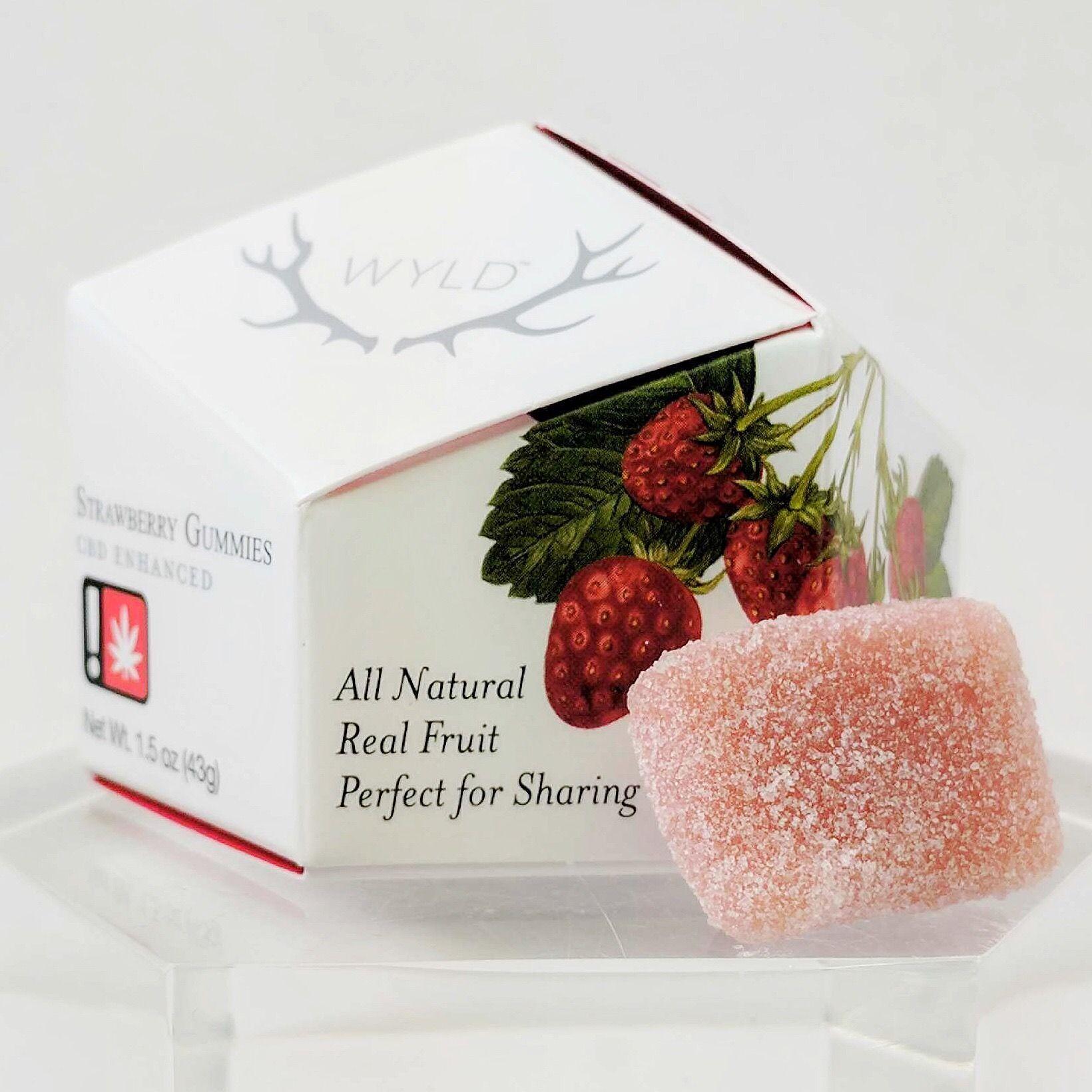 Wyld - Strawberry CBD Gummies *Sale*