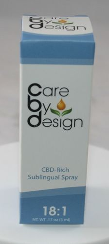 18:1 CBD Spray - Care By Design - 5 ML