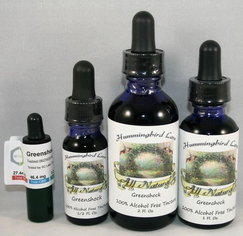 Greenshock Tincture - Hummingbird Lane 1 OZ