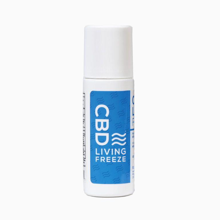 CBD Living - CBD Freeze Roll on Rub