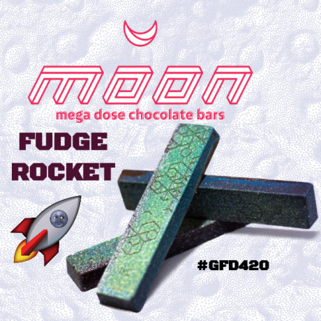 Moon Mega Dose Chocolate Bars - Rocket Fudge