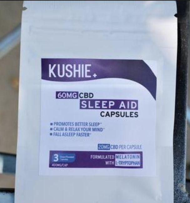 CBD Sleep Aid Capsules 60mg