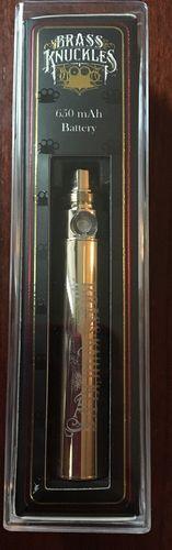 Brass Knuckles 650mAh Battery (Gold)