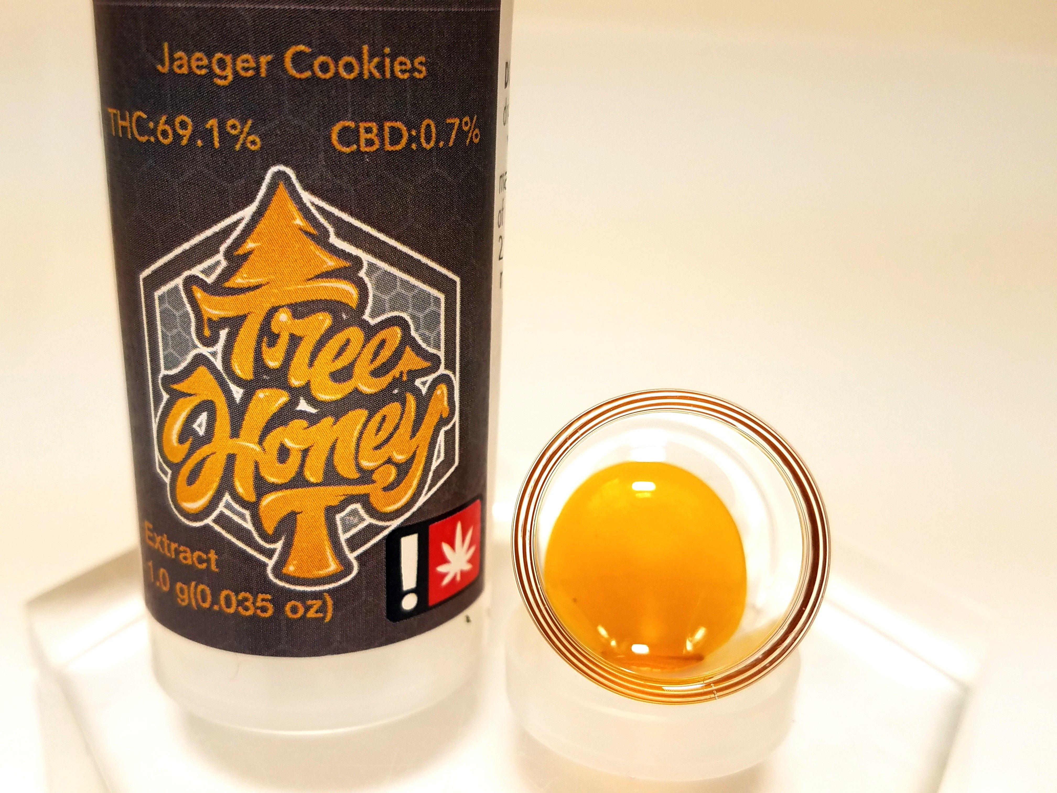 Tree Honey - Jaeger Cookies, Indica, Pull-n-snap
